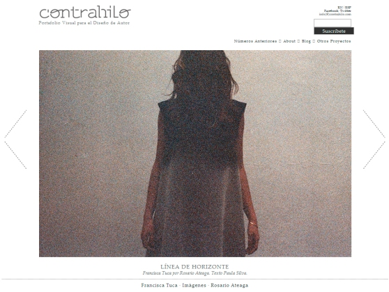Contrahilo | Aquí puedes leer el reportaje completo: http://contrahilo.cl/paginas/tuca2.php